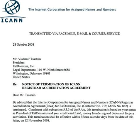 business english formal letter