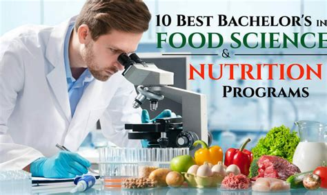 top ranked food science  nutrition