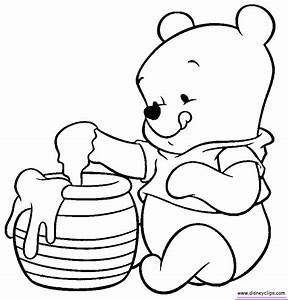 Baby Disney Characters Coloring Pages - Coloring Home