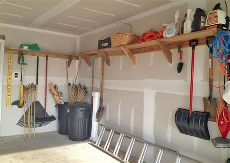 garage organization ideas garage storage on a budget the budget decorator