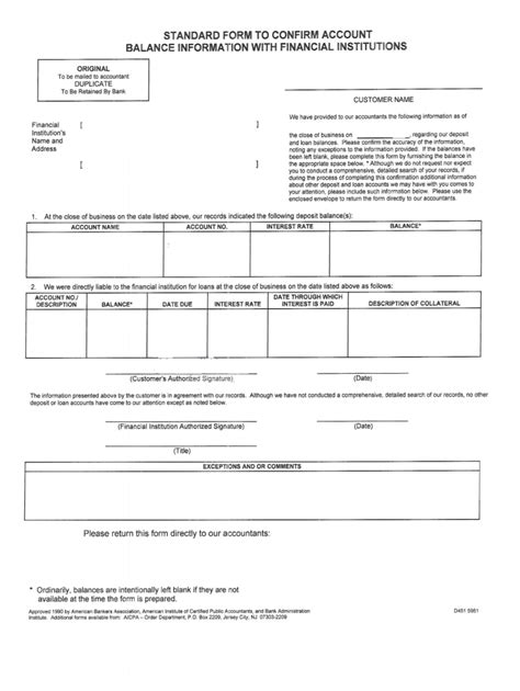 Confirm balance - Fill Out and Sign Printable PDF Template