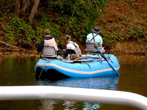 Pa Fish And Boat Delayed Harvest by Tuckasegee River Fly Fishing Float Trip 10 27 11 Hookers