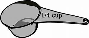 1/4 Cup Measuring Cup Clip Art at Clker.com - vector clip ...