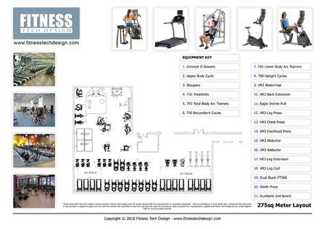 gym design  fitness layout portfolio fitness tech