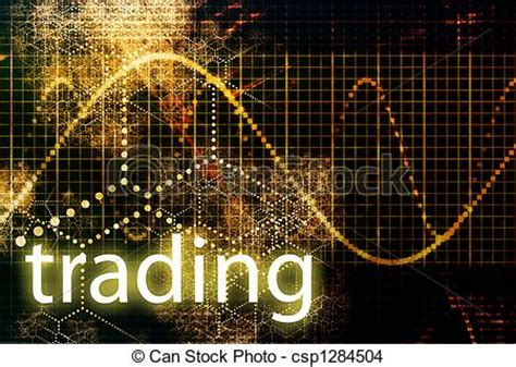 trading abstract business concept wallpaper