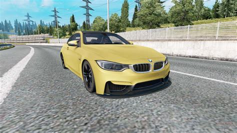 Bmw M4 Coupe Modification by Bmw M4 Coupe F82 V2 0 Pour Truck Simulator 2