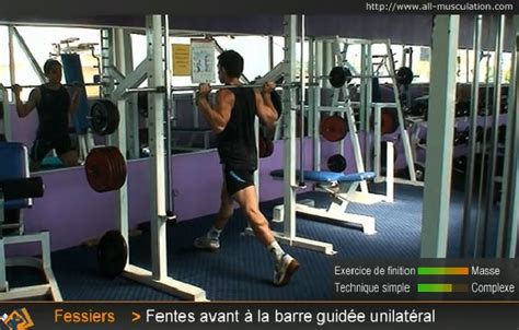 Banc De Musculation Guidée by Musculation Charge Guid 195 169 E