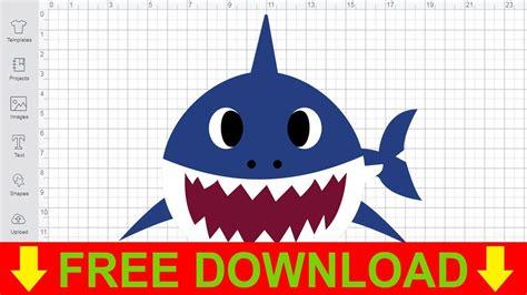 baby shark svg  cutting files cricut silhouette