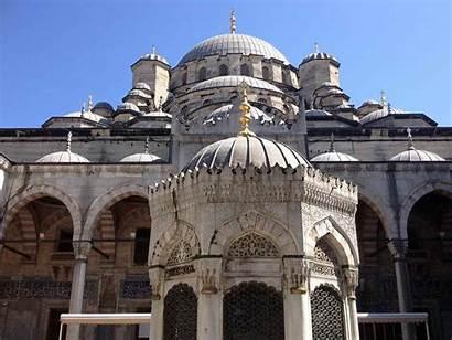 Istanbul Mosque Mosques Bangunan Gambar Masjid Yeni