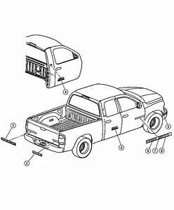 Dodge Ram 2500 Nameplate   V10