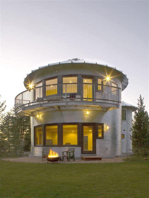 build  inexpensive home  grain silos idesignarch interior design architecture
