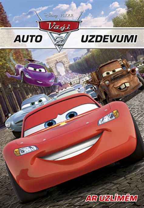 Auto uzdevumi. Ar uzlīmēm. Vāģi 2. Disney Cars - uzdevumu ...