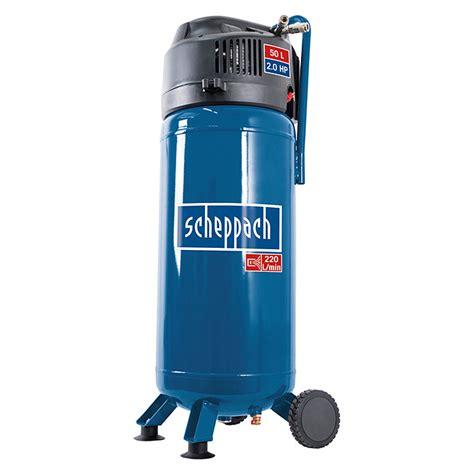 Scheppach Kompressor Hc51v 10 Bar 1 5 Kw 2 Ps Kesselinhalt 50 L 2332 Kompressoren