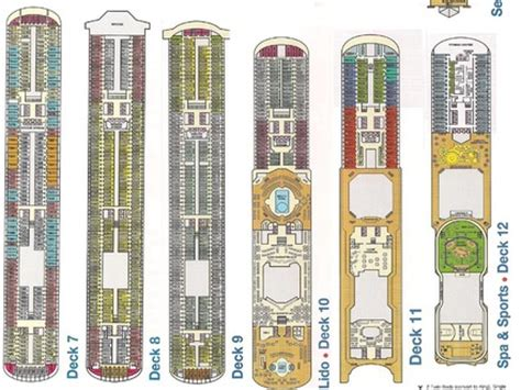 Carnival Deck Plans by Carnival Cruise Deck Plan Wallpaper Punchaos