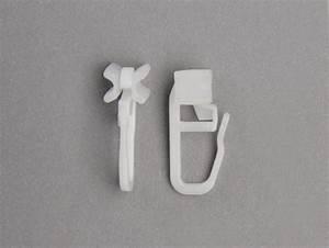 Gardinengleiter Für Aluschienen : gleiter f r gardinenschiene vorhanggleiter x gleiter mit faltenlegehaken ~ Watch28wear.com Haus und Dekorationen