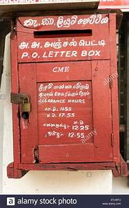 old fashioned letter box in singapore with both english With old fashioned letter box