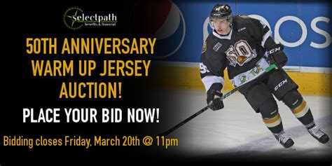 Bid Now Auction by Warm Up Jersey Auction Bid Now Knights