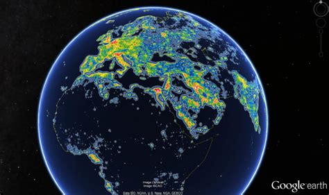 Thanks Light Pollution One Third The World