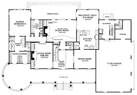 southern plantation floor plans colonial farmhouse plantation southern house