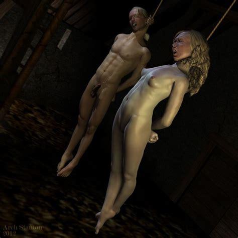 Arch Stanton Hanging Art Fetish Porn Pic