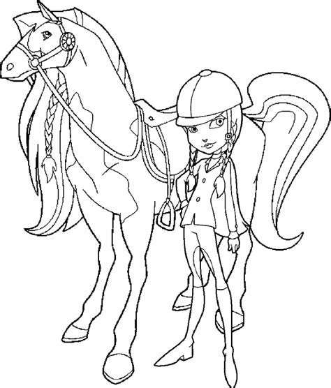fastest horse   horseland scarlet coloring pages batch  bestofcoloringcom