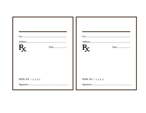 pad template printable blank prescription pad www pixshark images galleries with a bite