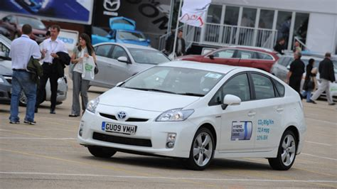 toyota auto company prius shines at company car in action toyota