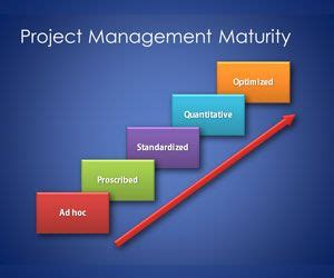 maturity model template  project management