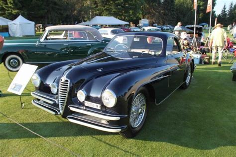 1948 Alfa Romeo 6c  Carrozzeria Touring Superleggera
