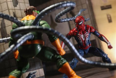 Marvelousnews Photo Of The Day Ps4 Spider Man Vs Doc Ock