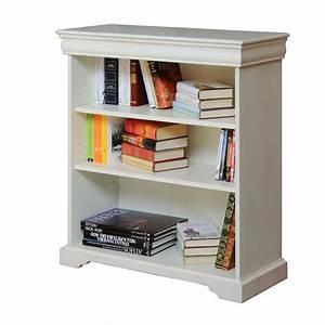 Petite bibliothèque finition laquée Meuble bas sauve espace Salon Bureau eBay
