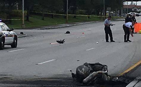 Motorcyclist Killed In Pre-dawn Collision On Miramar