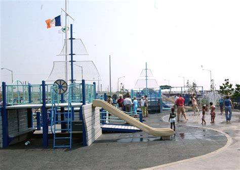 rockaway beach  boardwalk nyc parks