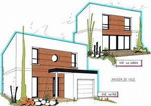 maison cubique plan um46 jornalagora With awesome plan de maison 120m2 10 plan maison 120m2 mc immo