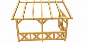 Holz Bauplan De : wand pergola selber bauen holz ~ Frokenaadalensverden.com Haus und Dekorationen