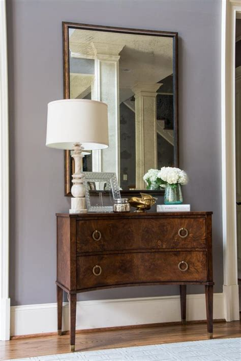 Dining Room In Entryway by Transitional Entryway With Dining Room Chest Hgtv