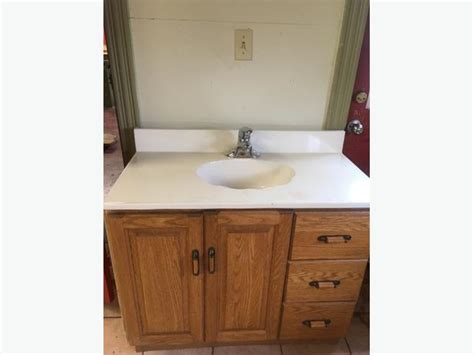 Bathroom Vanity Includes One Piece Sink/countertop Fill In The Blank Baby Shower Game Desserts Easy Themes For Party Donald Duck Blue And White Invite Wording Boy Host A Best Place