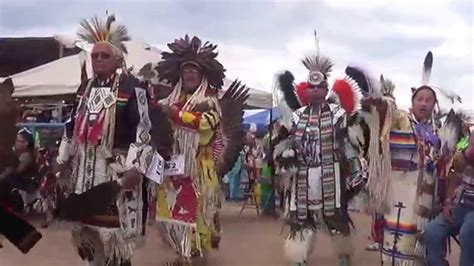 pow wow grand entry navajo nation fair  youtube