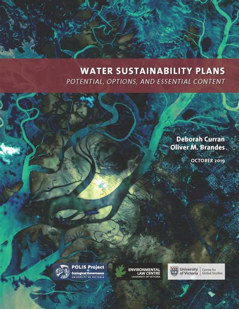 water sustainability plans  british columbia potential