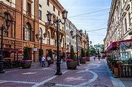 Saint-Petersburg Russia Streets