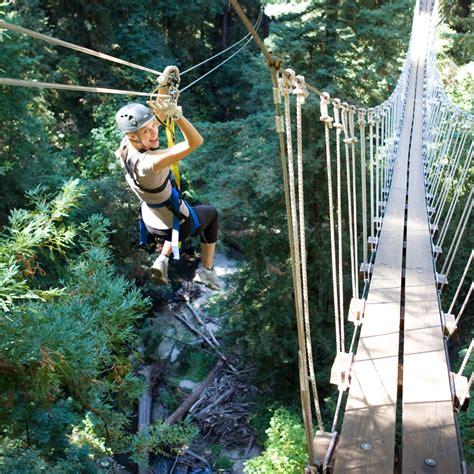 redwood canopy tours felton ca day trip sunset