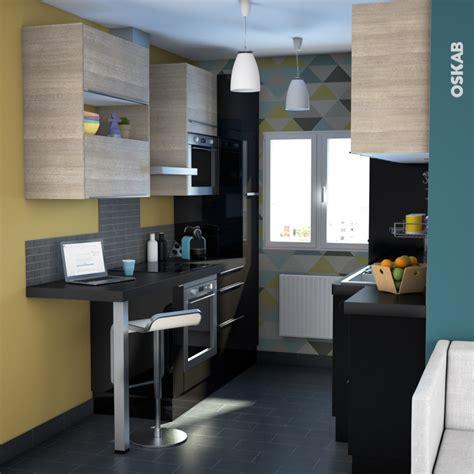 cuisine et sens finition cuisine joue n 29 keria noir avec sachet de fixation l58 x h70 x ep 1 6 cm oskab