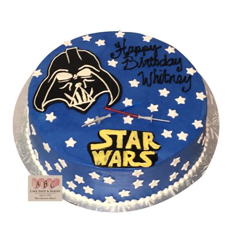 darth vader star wars cake abc cake shop bakery