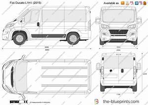 Fiat Ducato Dimensions Exterieures : fiat ducato l1h1 vector drawing ~ Medecine-chirurgie-esthetiques.com Avis de Voitures