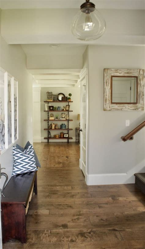 the interior paint color throughout the house is sherwin