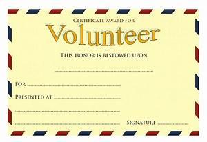 volunteer appreciation certificates free templates - volunteer certificate templates the best template collection
