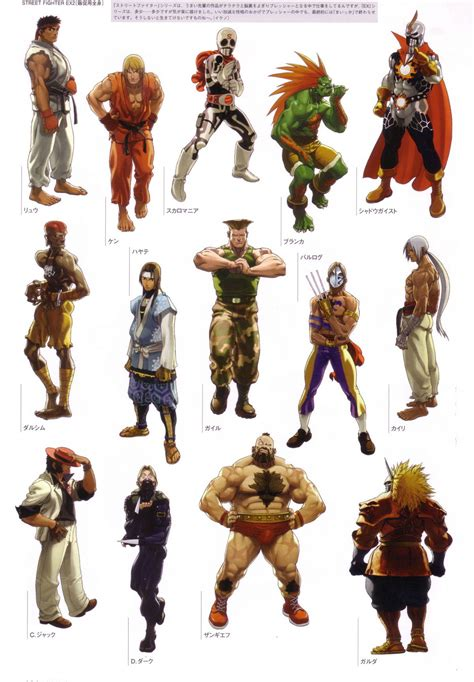 Character Model Street Fighter Street Fighter Characters