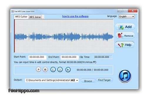 mp3 cutter .exe file free download