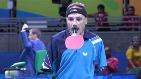 paralympian table tennis player   arms