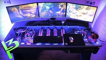 Liquid Cooled Pc Desk Epic Custom Computer